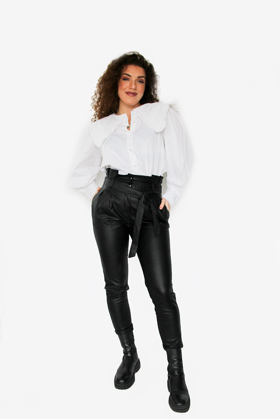 Leather Love Jeans