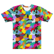 COLOUR CAMO T-SHIRT