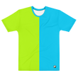 GREEN / BLUE T-SHIRT