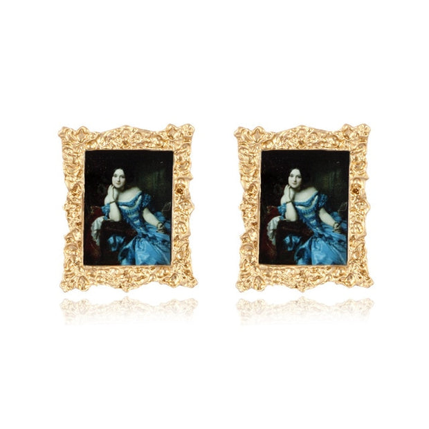 Vintage Baroque Earrings