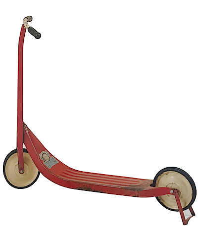 wee wheeler scooter