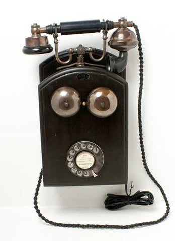 Bronze Big Wall Front Bells Telephone