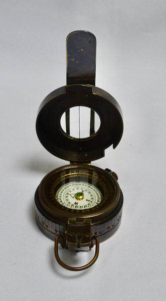 Black Army-Style Prismatic Marching Compass