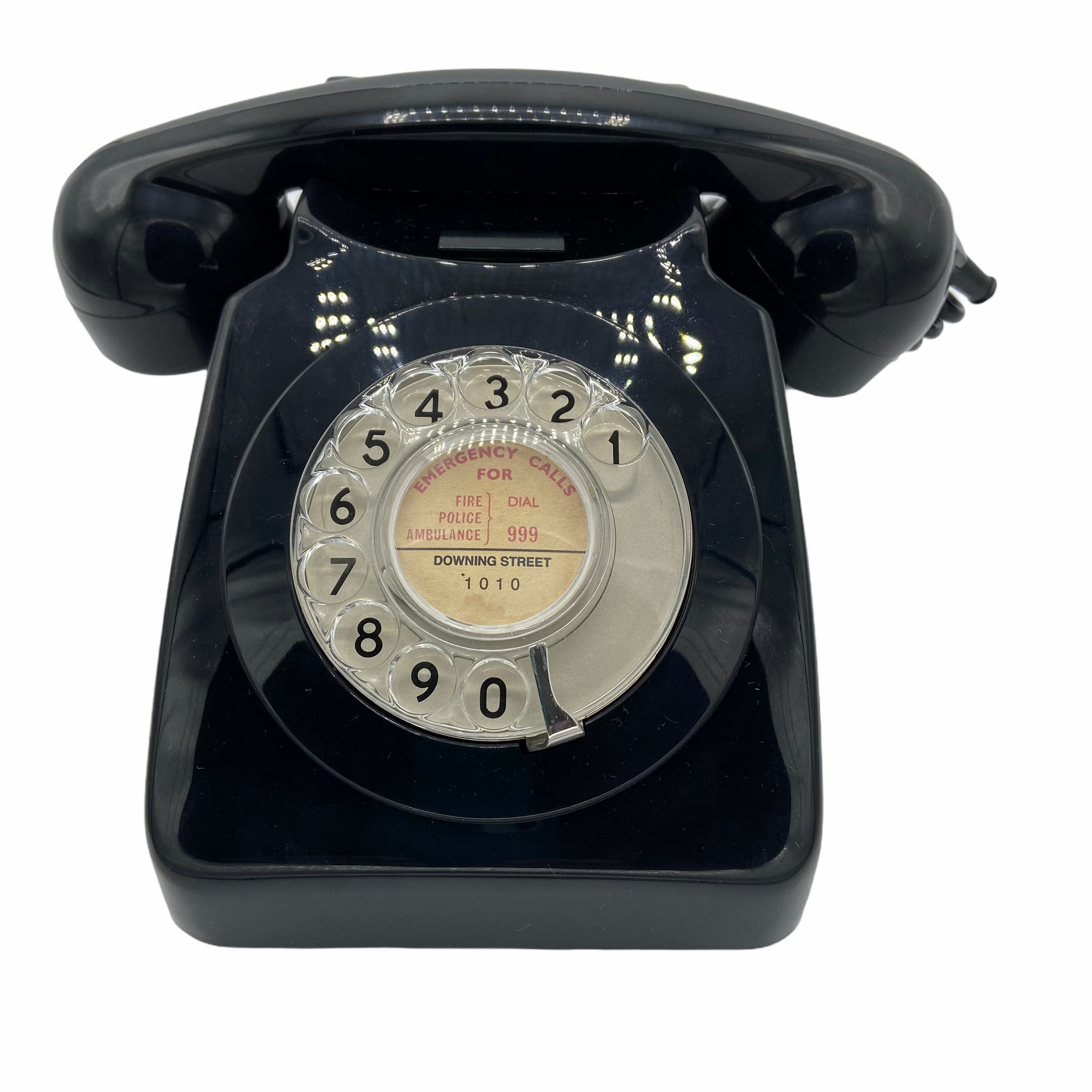 Antique 1960-70s  Black British GPO 746F Telephone