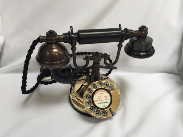 Polished Cradle Telephone