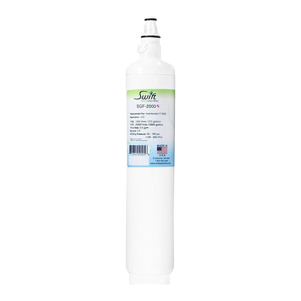 Replacement for Insinkerator F-2000 Water Filter by Swift Green Filters SGF-2000 - The Filters Club