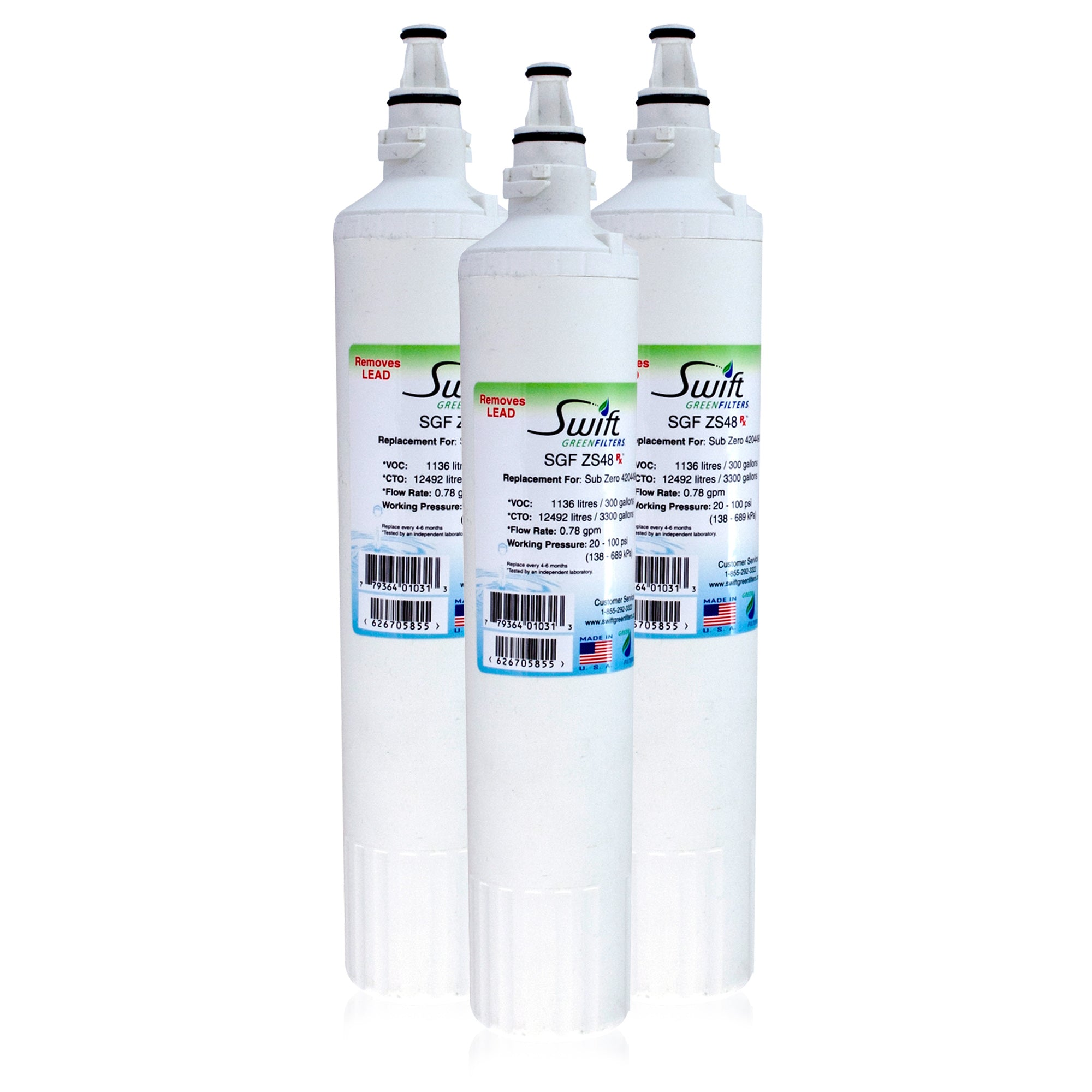 PRO 48 Compatible Pharmaceutical Refrigerator Water Filter
