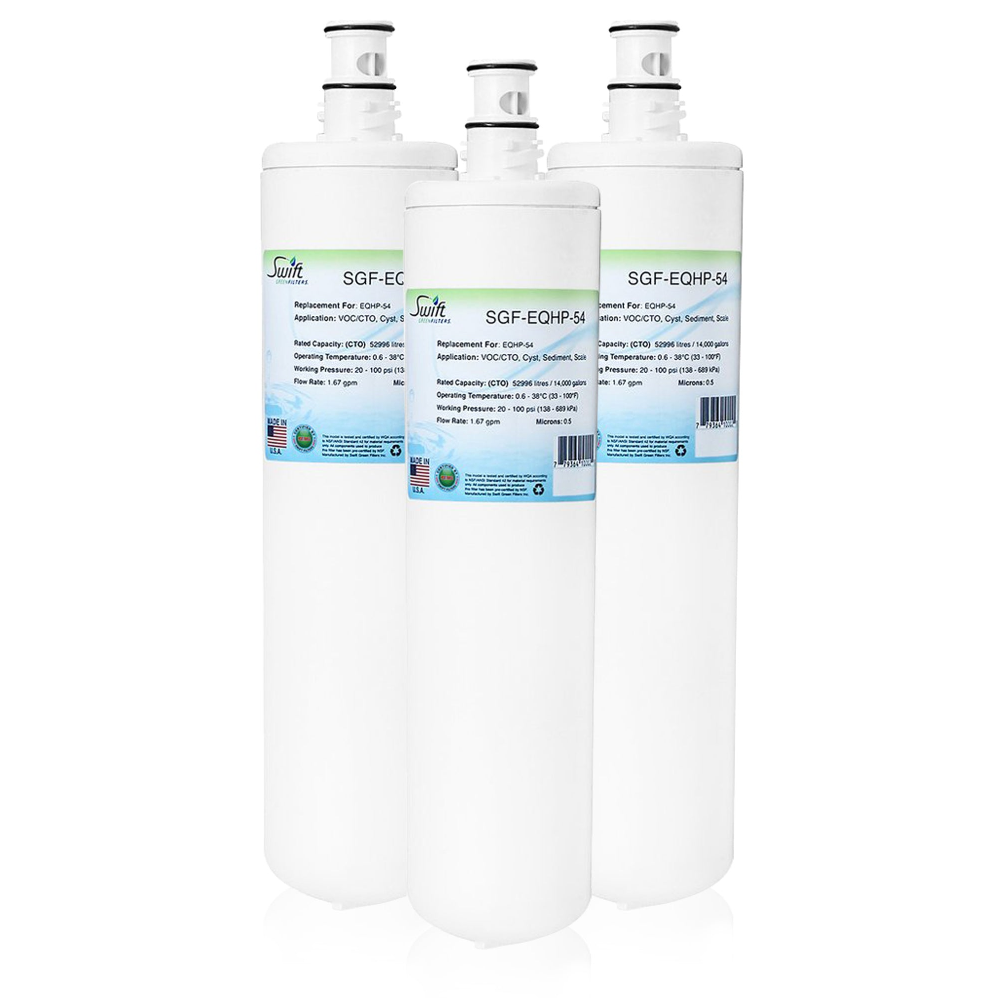 Replacement for Bunn Bunn EQHP-54 Water Filter by Swift Green Filters SGF-EQHP-54