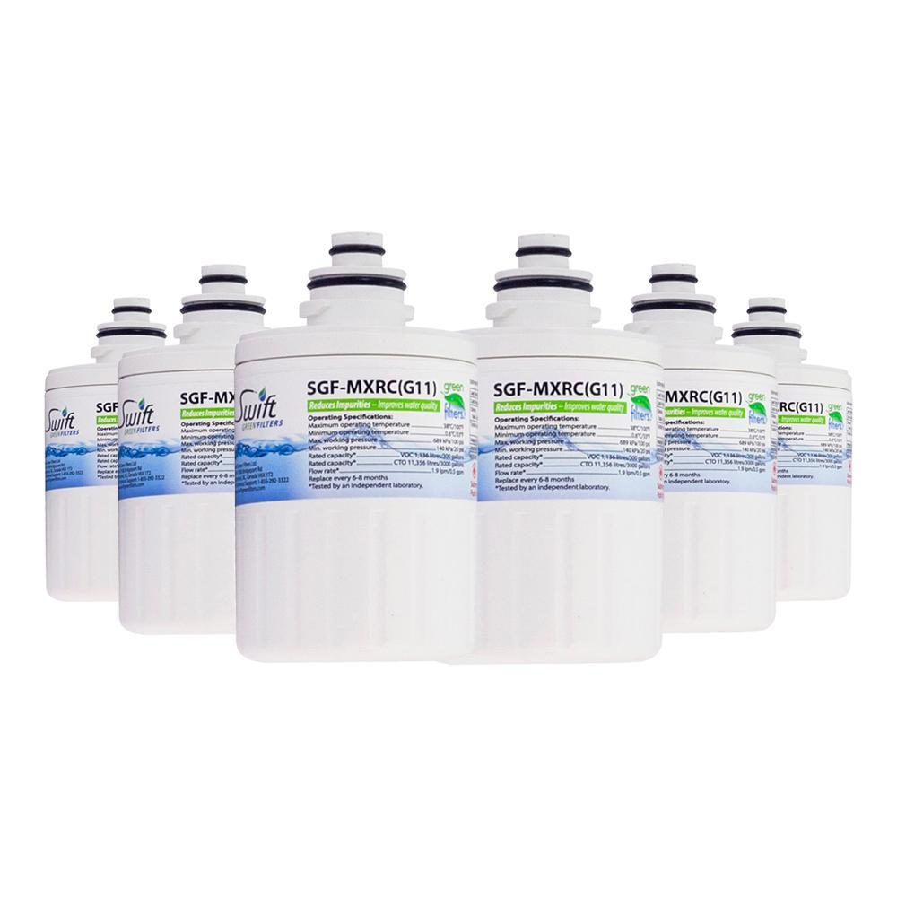 GE MXRC FXRC Compatible VOC Refrigerator Water Filter - The Filters Club