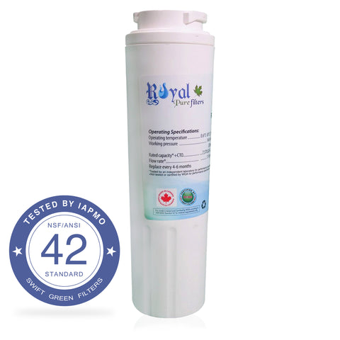 EveryDrop EDR4RXD1, Maytag Ukf8001 & Whirlpool 4396395 Compatible CTO Refrigerator Water Filter