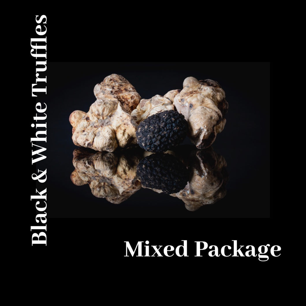 Extremely Fresh Truffles Mixed White & Black