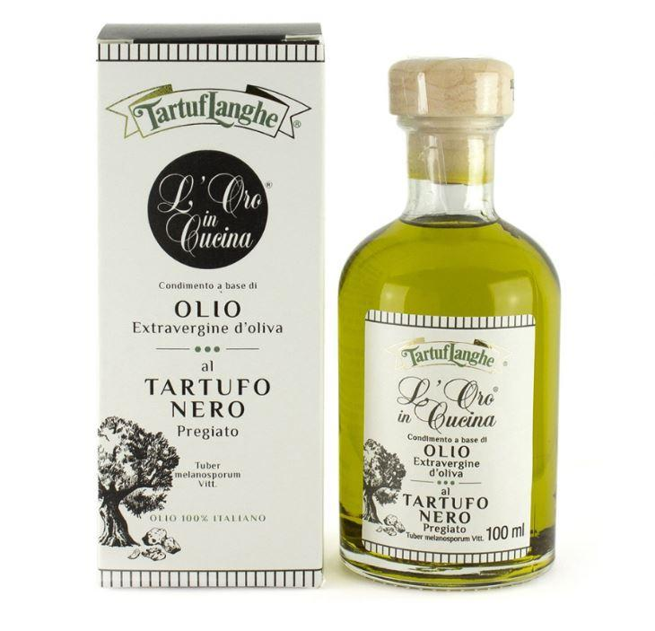 Extra Virgin Olive Oil with Black Truffle Slices & Natural flavor (3.38 fl oz)