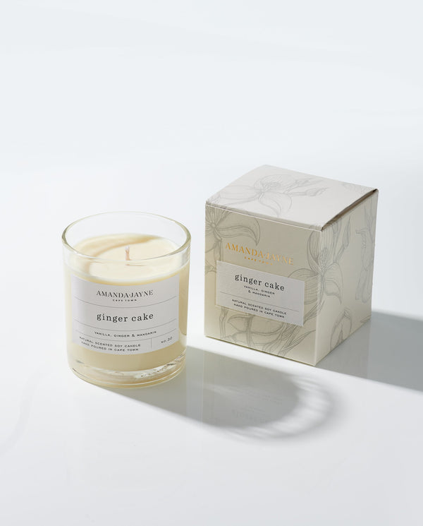Ginger Cake Glass Candle