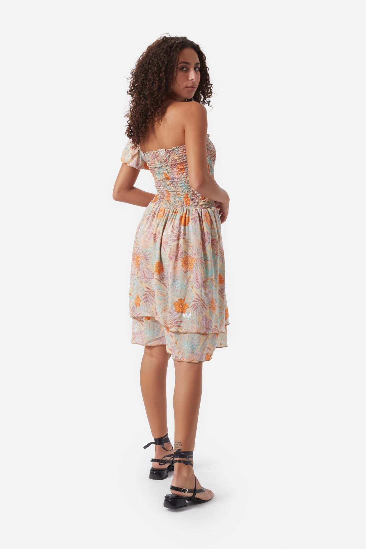 Havana One Shoulder Dress