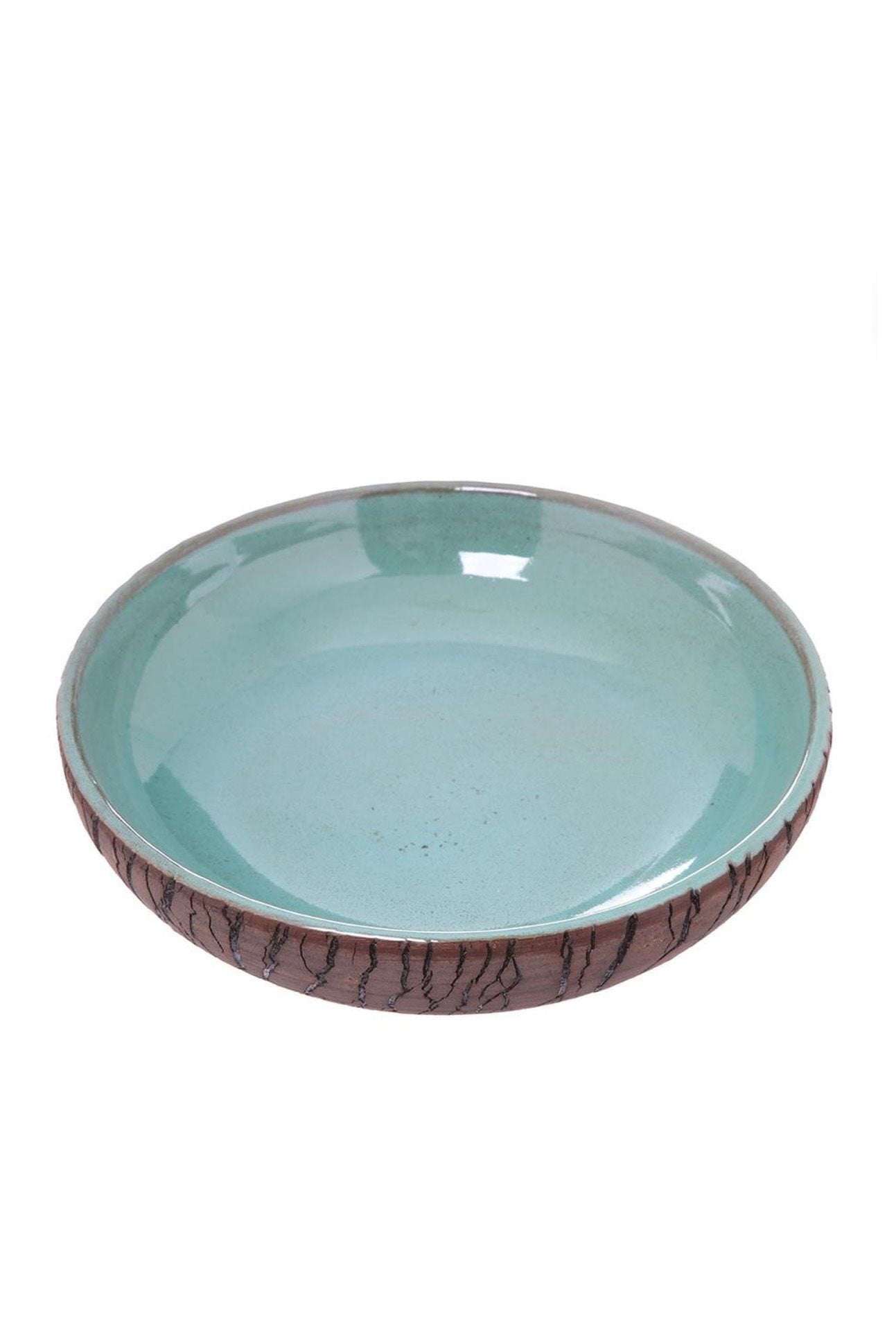 Forest Family Aqua Deep Plate