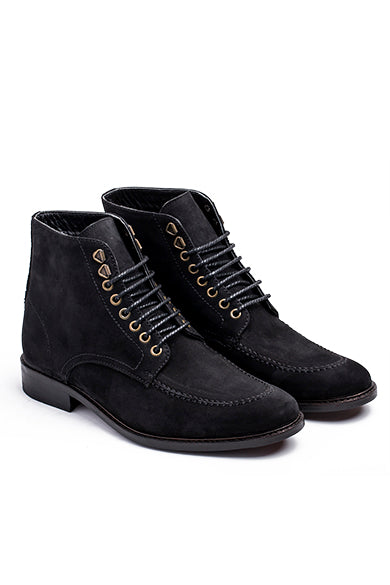 Nu-buck Leather Boots