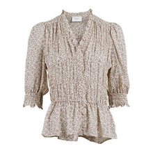 Indlæs billede til gallerivisning NEO NOIR Tamra Sweet Flower Blouse Off White