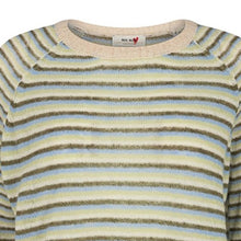Indlæs billede til gallerivisning MOS MOSH  Helsa Stripe Knit Winter Pear