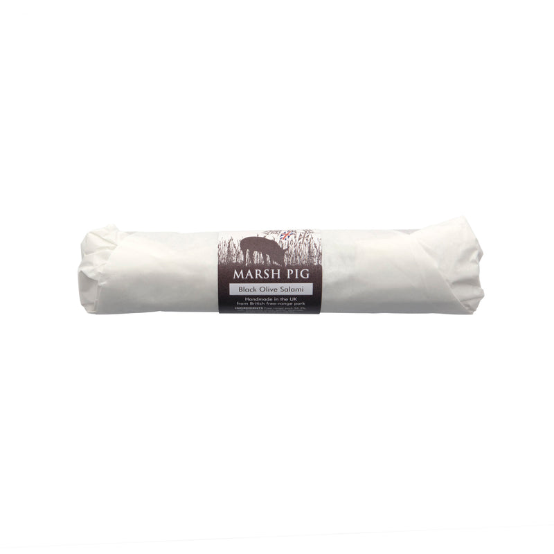 Kalamata Black Olive Salami (WHOLE)