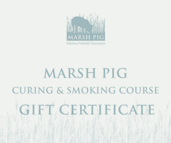 Meat Curing & Smoking Course (GIFT CERTIFICATE)