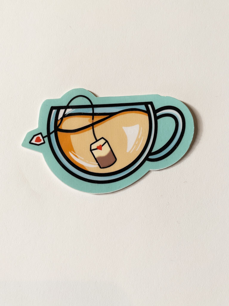 Cozy Cup Sticker