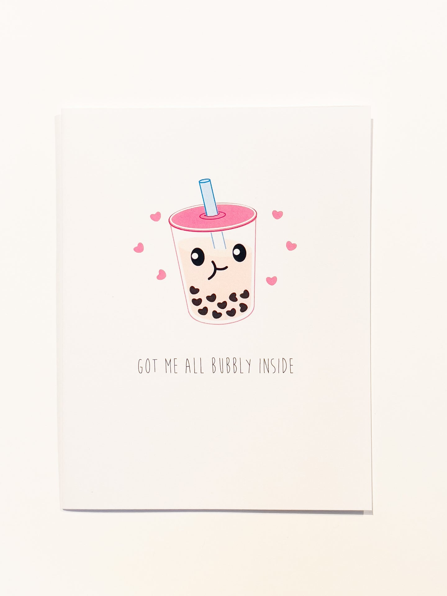 Milk Tea & Boba Card
