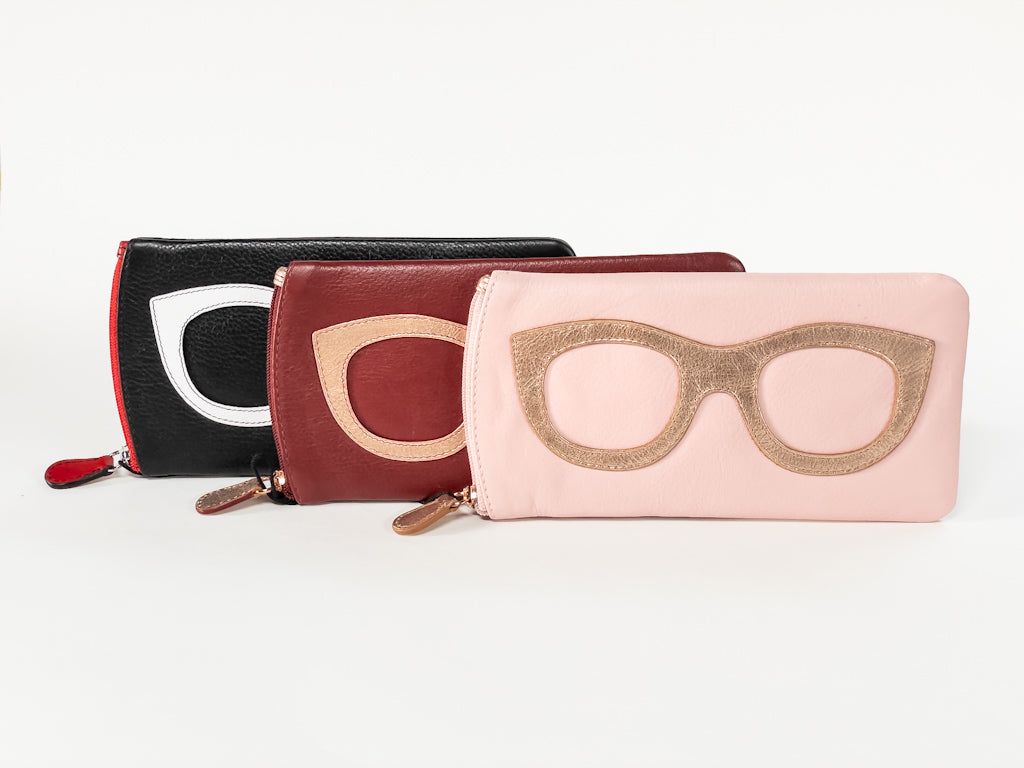 Eyeglass Case with Cateyes