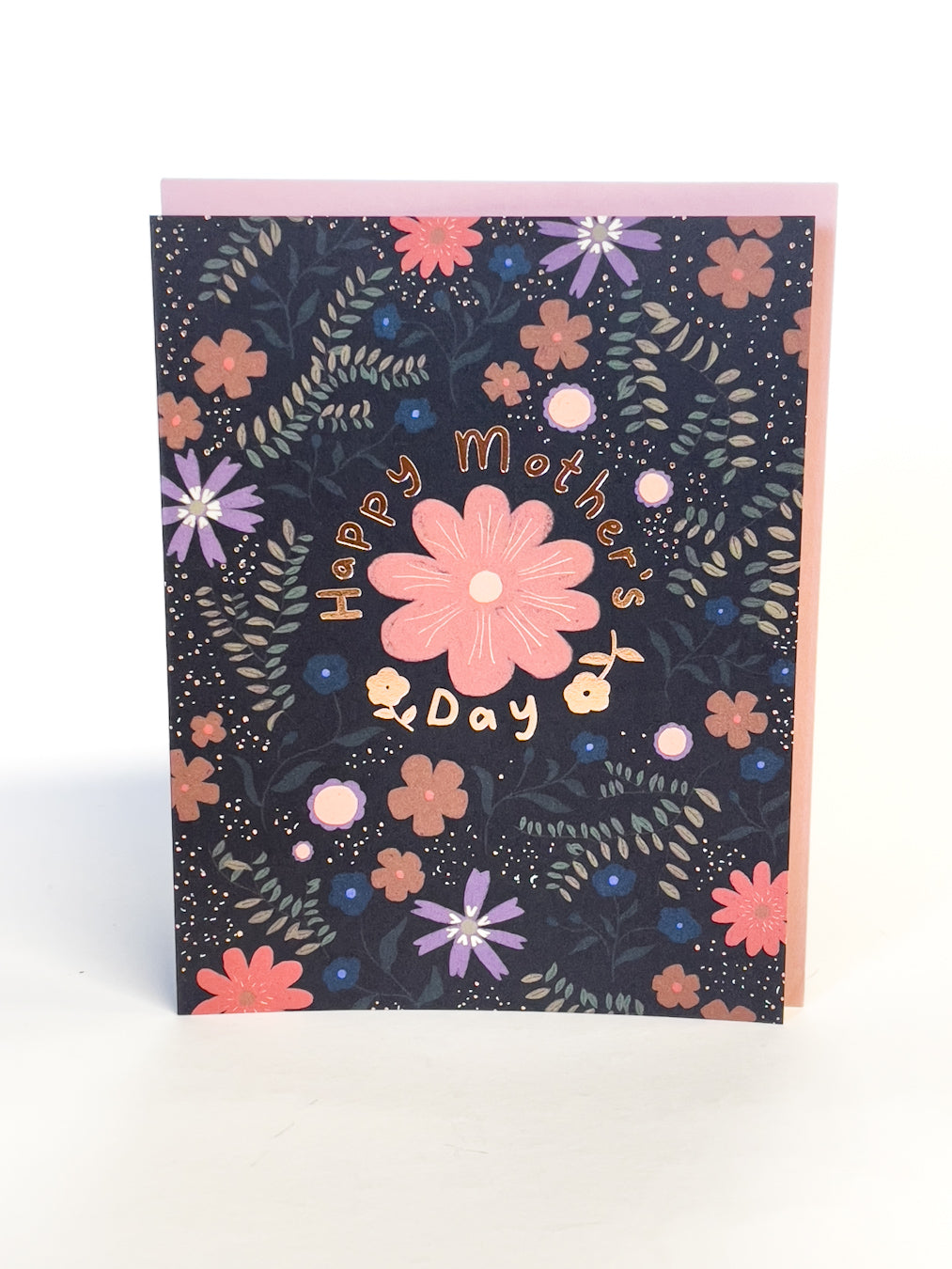 Mother's Day Floral Pattern Card