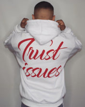 Lade das Bild in den Galerie-Viewer, White Red Trilogy Hoodie