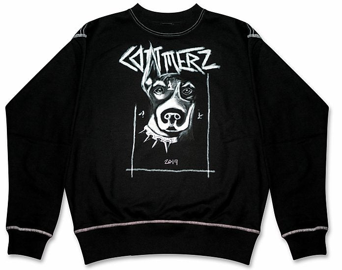 COMMERZ DOG CREWNECK