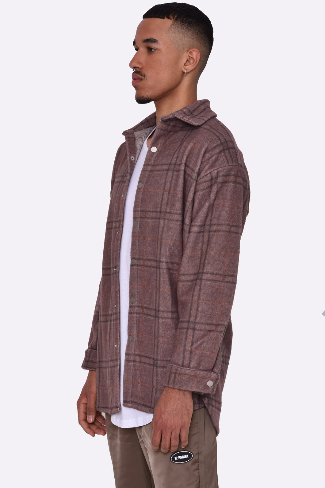 Flannel Hemd Cuddle Brown