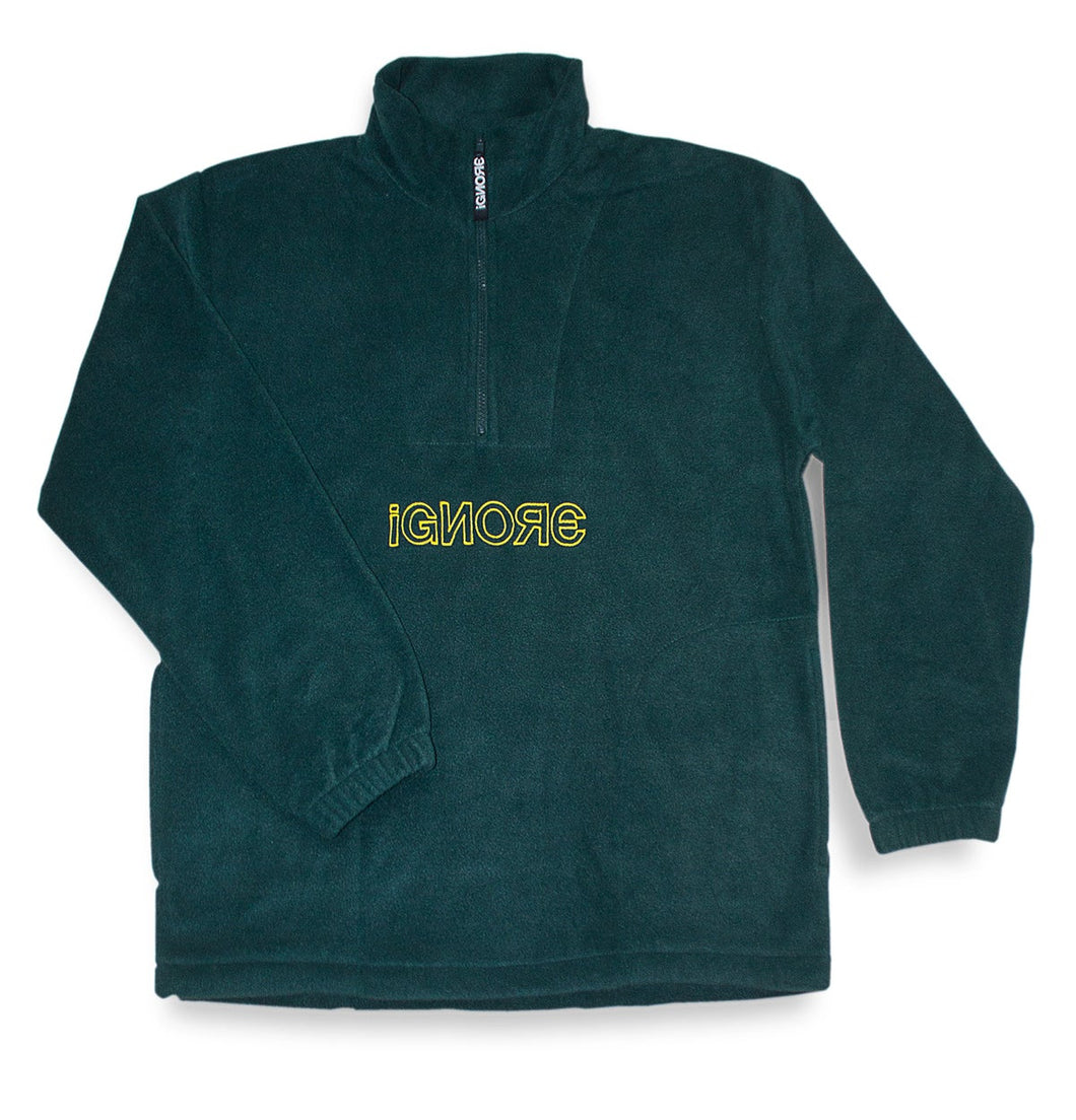 Fleece Sweater Green/Yellow