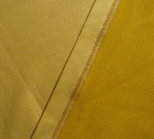 Lade das Bild in den Galerie-Viewer, HANDMADE YELLOW SATIN SWEATER