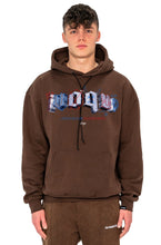 Lade das Bild in den Galerie-Viewer, HOODIE ART LOGO MOCCA BROWN