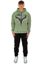 Lade das Bild in den Galerie-Viewer, HOODIE DARK ANGEL MINT GREEN