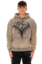 Lade das Bild in den Galerie-Viewer, HOODIE DARK ANGEL SAND WASHED