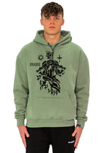 Lade das Bild in den Galerie-Viewer, HOODIE SKULL MINT GREEN