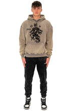 Lade das Bild in den Galerie-Viewer, HOODIE SKULL SAND WASHED