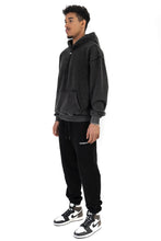Lade das Bild in den Galerie-Viewer, HOODIE WINGS BLACK WASHED 2