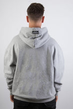 Lade das Bild in den Galerie-Viewer, Ivo Hoodie Light Grey Trophy Black