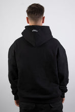 Lade das Bild in den Galerie-Viewer, Logo Hoodie Black Blue