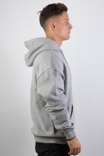 Lade das Bild in den Galerie-Viewer, Logo Hoodie Light Grey Black