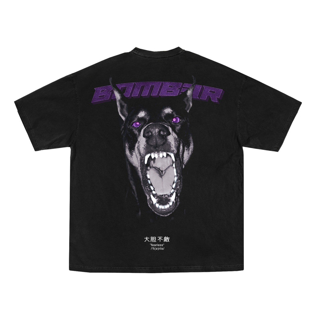 Purple Rage T-Shirt  Vintage Black