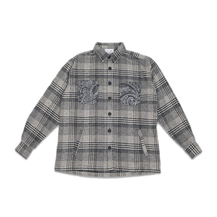 Paisley Pockets Flanell