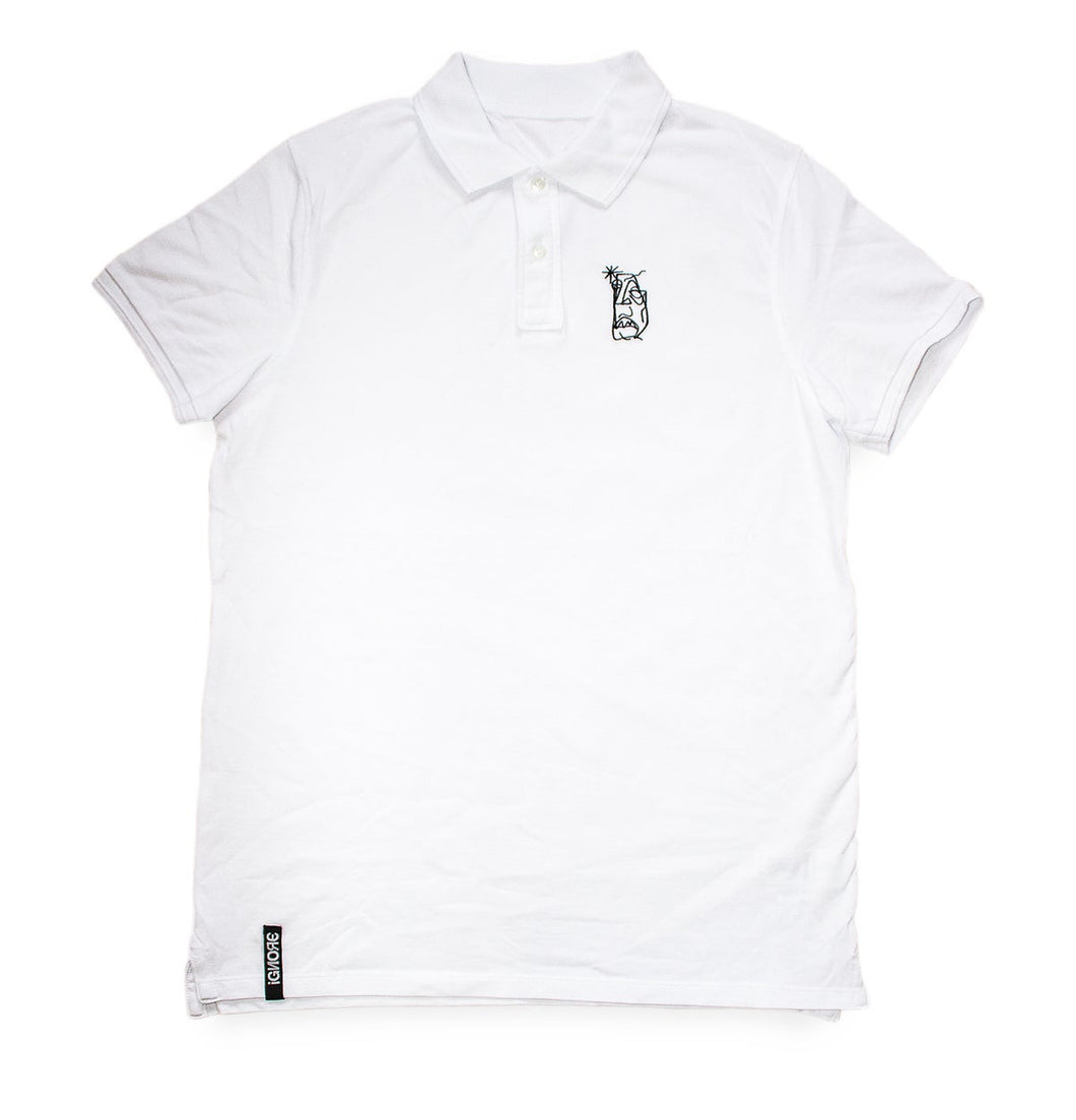 Ignore Design Poloshirt White