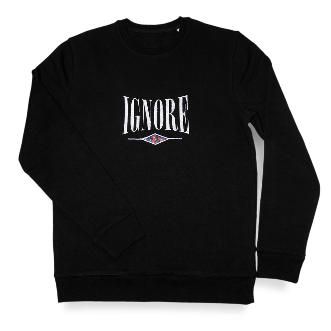 Sweater - iGNORE Design - Subway Surfer - black