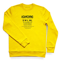 Lade das Bild in den Galerie-Viewer, Ignore Sweater Yellow
