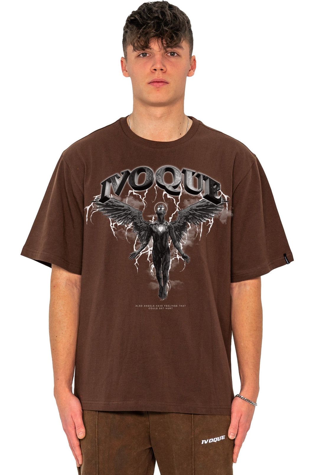 T-SHIRT DARK ANGEL MOCCA BROWN