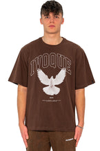 Lade das Bild in den Galerie-Viewer, T-SHIRT RISING MOCCA BROWN