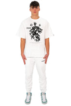 Lade das Bild in den Galerie-Viewer, T-SHIRT SKULL CLEAN WHITE